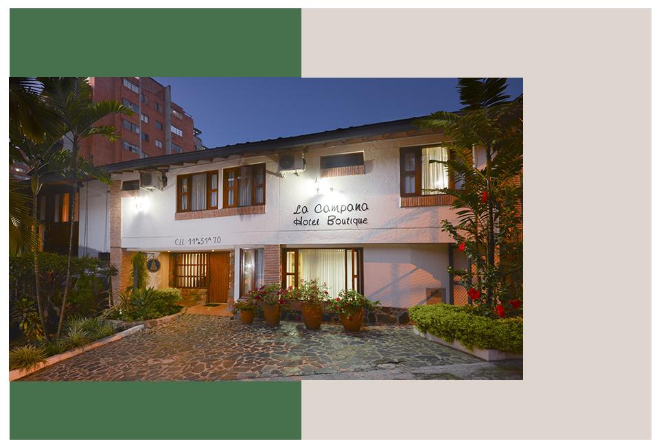 La campana hotel boutique ubicación privilegiada servicios hoteleros
